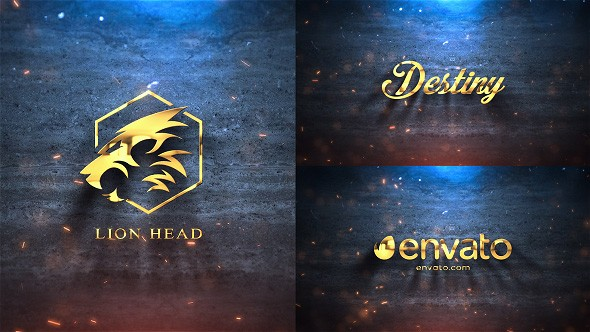 Videohive Silver & Gold Logo Reveal 21422987