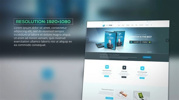 Videohive Website Presentation 22009353