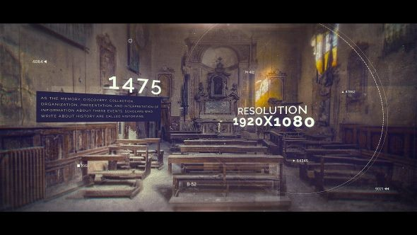 Videohive History Timeline 21235236
