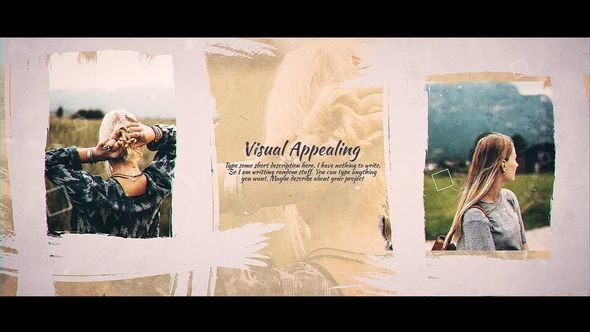 Videohive Brush Paint Gallery 23050555