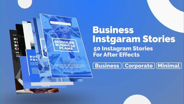 Videohive Business Instagram Stories 23042927