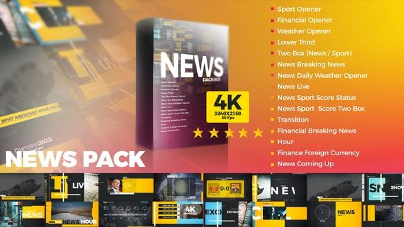 Videohive News Pack 22307759