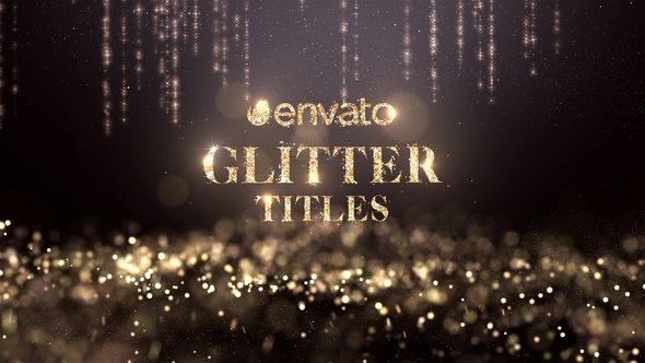 Videohive Glitter Titles 22190742