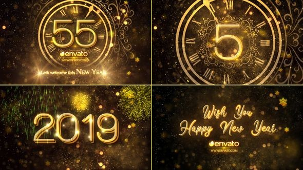 Videohive New Year Countdown 2019 23016448
