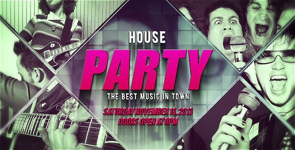 Videohive House Party 5893419