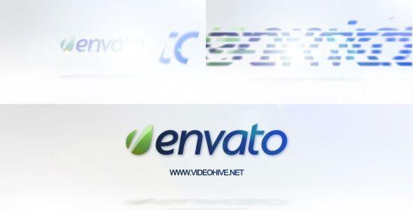 Videohive Clean White Logo 4163297