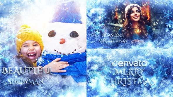 Videohive Winter Slideshow / Titles 22978190