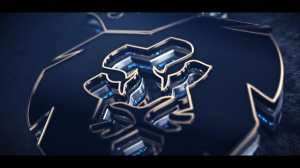 Videohive Fast Gold Logo 22586942