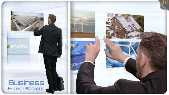 Videohive Business Hi-Tech Screens 20020469