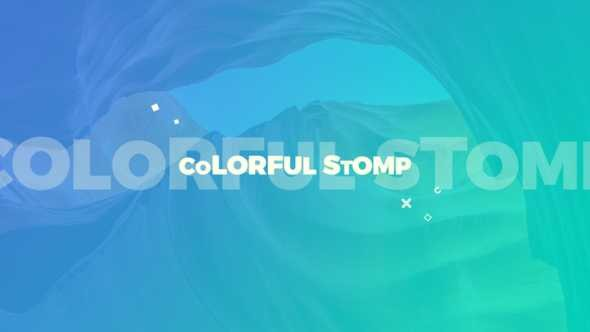 Videohive Colorful Stomp 22939283
