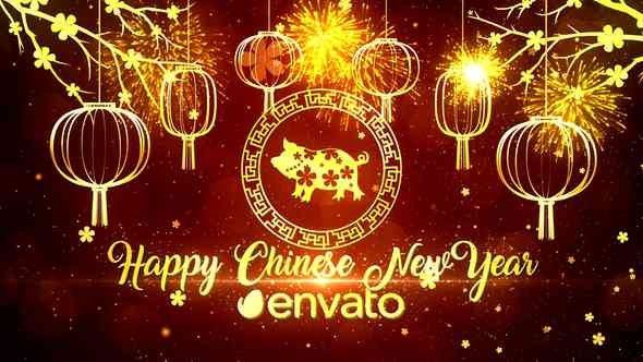Videohive Chinese New Year Wishes 21344961