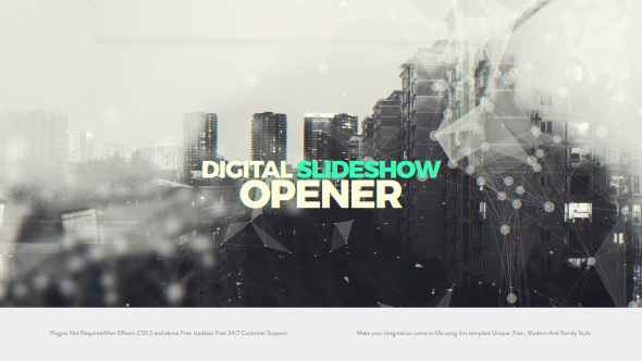 Videohive Digital Slideshow I Opener 20992828