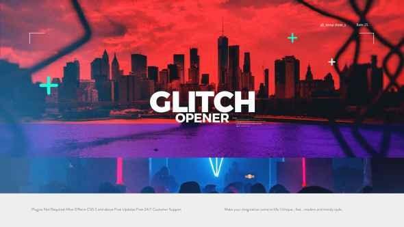 Videohive Glitch Opener 20868750