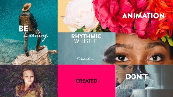 Videohive Rhythmic Whistle Slideshow 20500741