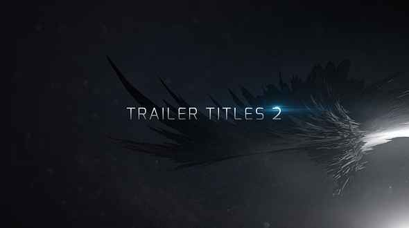 Videohive Trailer Titles 2 13638548