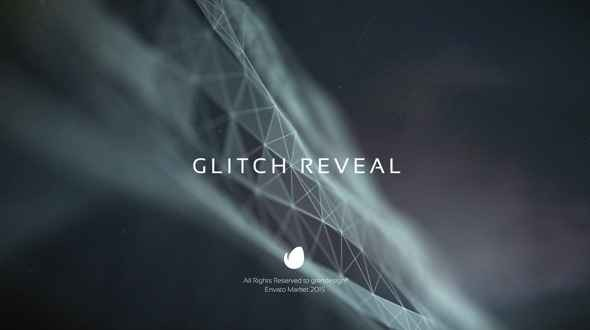 Videohive Glitch Reveal 12418594