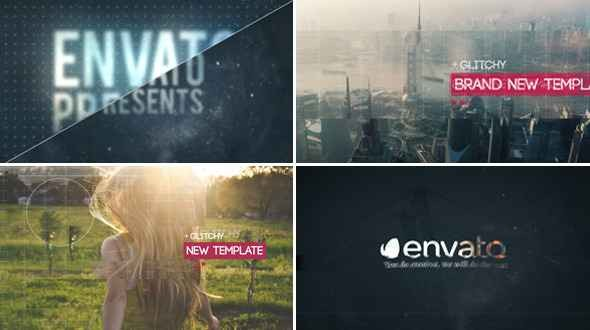 Videohive Glitch Slideshow 4 11610578