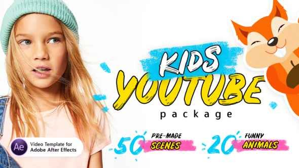 Videohive Kids Youtube Package | For Ae V.1.3 22298286