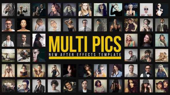Videohive Multiple Pictures Slideshow 12794093