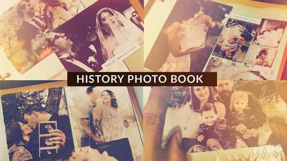 Videohive History Photo Book 22714746