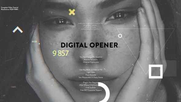 Videohive Digital Opener 21369607