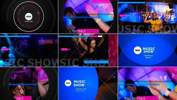 Videohive Music Show 9597464