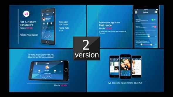 Videohive Iphone 6 UI Presentation 9338430