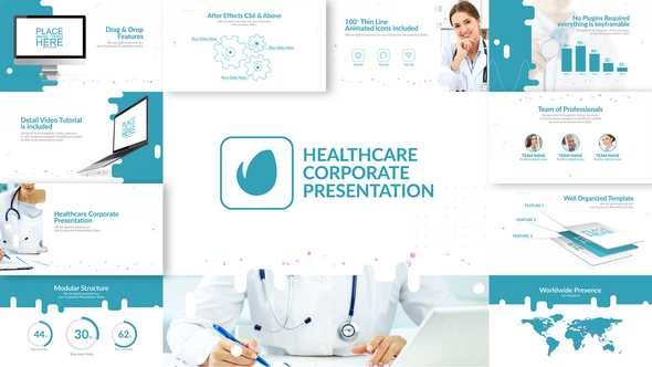 Videohive Healthcare & Corporate Presentation 23093513