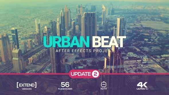 Videohive Urban Glitch Intro v2 22162105