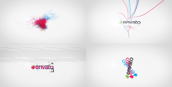 Videohive Kinetic Tricolor - A Quick Logo Reveals Package 7227681
