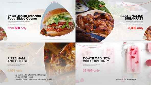 Videohive Food Product Opener 22598659