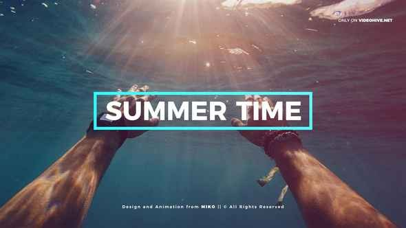 Videohive Summer 22508561