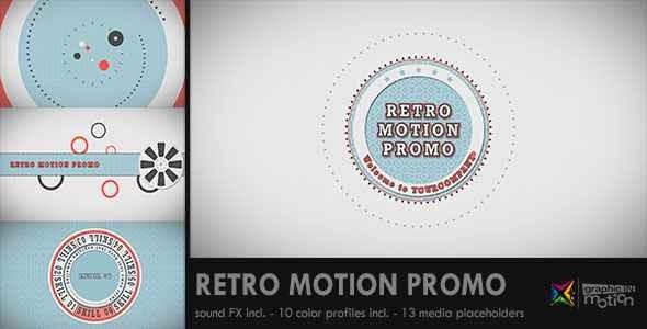 Videohive Retro Motion Promo 2418939