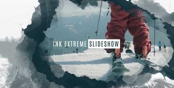 Videohive Ink Extreme Slideshow 14952379