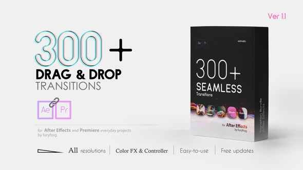 Videohive Seamless Transitions 22997639