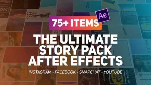 Videohive The Ultimate Story Pack 23087236