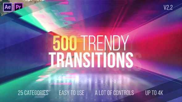 Videohive Transitions V2.2 22114911