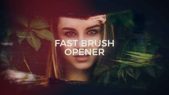 Videohive Fast Brush Opener 20381404