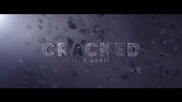 Videohive Cracked Title Design 23194683