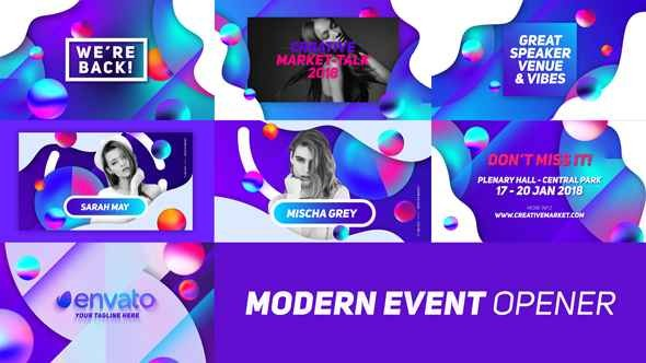 Videohive Modern Event Opener 21196202