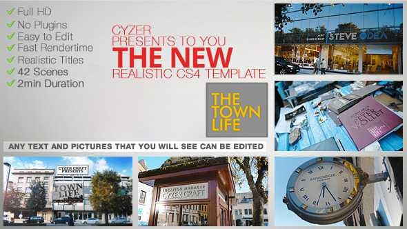Videohive Town Life Intro - TV Series Titles 5687562