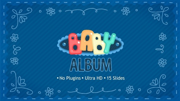 Videohive Baby Album 22689752