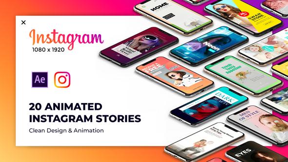 Videohive Instagram Stories Package 2 23228079