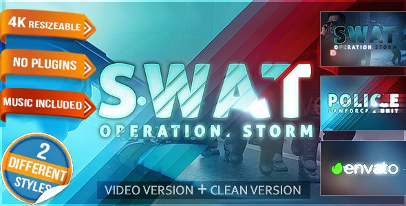 Videohive Police Logo - Law Force Show 16634982