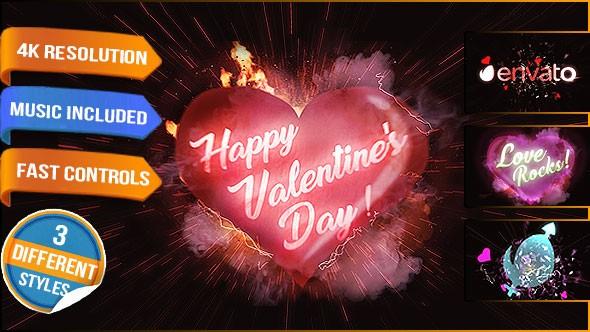 Videohive Valentines Day Love Logo 19332006
