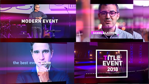 Videohive Modern Event 21226522