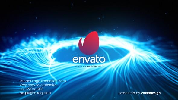 Videohive Impact Logo Opener 21943760