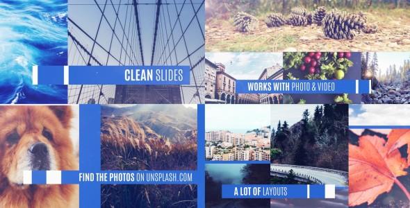 Videohive Clean Slideshow 14392799