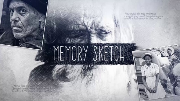 Videohive Memory Sketch 23238386