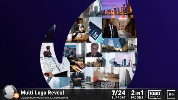 Videohive Multi Logo Reveal 21238509